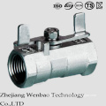 Fully Port Carbon Steel Casting Ball Valve with Manul Handle