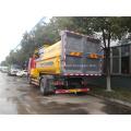 Grúa compacta sobre camión de basura FAW