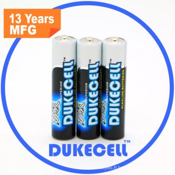 Wrap rétractable pour batterie alcaline AAA Lr03