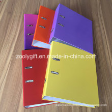 "Assorted Color Printing A4 FC 3"" Paper Lever Arch File"