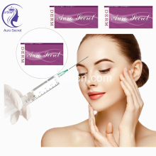 Filler dermico antirughe iniettabile in gel di acido ialuronico