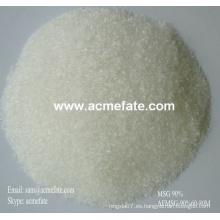 90% de glutamato monosódico MSG polvo de sal condimentos