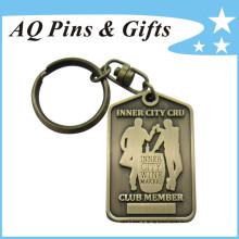 Porte-clés avec placage antique (porte-clés-046)