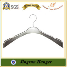 Plastic Hanger Manufacture Fashion Silver Plating Dresses Hanger