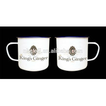 High Quality Low Price Customized Design Decal Beer Coffee Enamel Mugs Cups