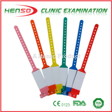 HENSO Disposable Plastic ID Bracelets