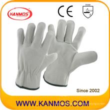 Adecuado Los guantes de seguridad industrial de los conductores del grano del cerdo Guantes de trabajo del cuero (222011)