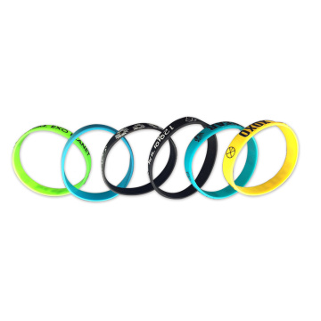 Rainbow Colorful Bracelet untuk Sports Silicone Band