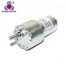 12V low noise round spur gear motor