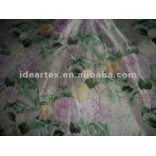 Tissu Satin polyester imprimé pour robe faites personnaliser