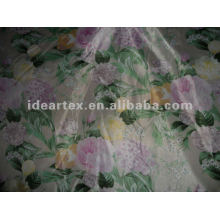 Polyester Printed Satin Fabric for Dress customize-made