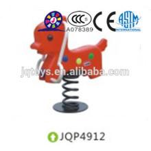 JQP4912 Kids Plastic Play Seesaw para crianças spring balanço