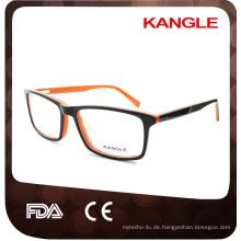 High-Fashion Unisex Bestseller Acetat optische Rahmen und Brillen Brillen
