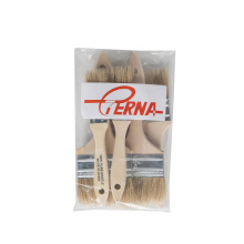 Chip Brush 633 Paint Brush Set Natural White Bristles With Wooden Handle  for USA Market