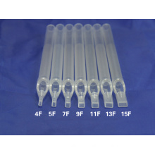 Sterile Disposable Long Tattoo Tip tube nozzle RT VT DT FT Round