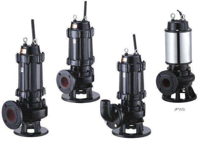 WQ type diving non-blocking sewage pump 3
