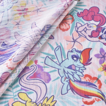 Tissu Jersey Simple Imprimé Tissu Coton Polyester CVC