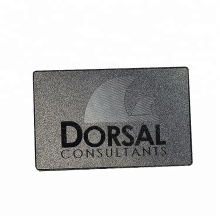 Professional manufacturer custom metal vip card