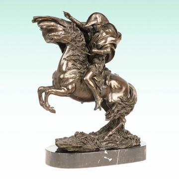 Mâle Figure Napoléon En Métal Maison Déco Bronze Sculpture Statue Tpy-461