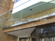 tempered GLASS canopy hardware