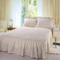 100% Polyester  Dust Ruffle  Bed Skirt   Fitted Bed Skirt