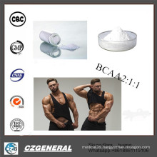 99% Hot Sale Branched Amino Acid Vegan Bcaa 2: 1: 1 Powder
