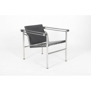 Le Corbusier LC1 Saddle Leather Basculant Chair