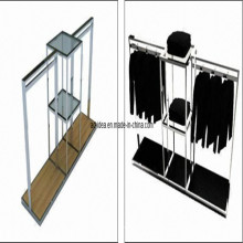 Metal Grid Display Rack, Eco-Friendly Display Stand (AD-130717)