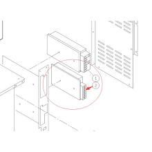 KXFP6EM4A00 Puissance pour pièce de rechange de machine CM602-L SMT