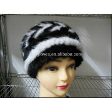 Mode Dame Mink Pelz Caps für den Winter