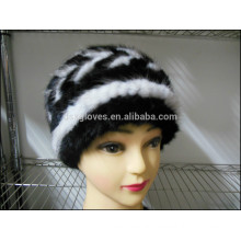 Fashion Lady Mink Fur Caps For Winter