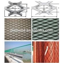 Fabrik-Export-heißes eingetauchtes galvanisiertes Streckmetall-Blatt / Hochleistungs-Streckmetall-Masche