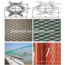 Maille augmentée épaisse de 2.5cm en métal / maille augmentée pour la clôture (fabricant)