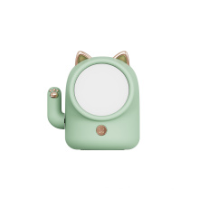 Creative LED lucky cat eye protection sleeping night light usb charging touch night light for bedroom