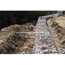 Габионный забор / стена, габионная сетка