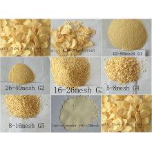 Dehydrierter Knoblauch für Fleischindustrie Luft dehydriert