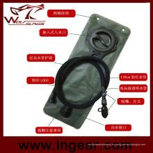 TPU deportes al aire libre militar táctico 2.5L hidratación bolsa de agua depósito recambio Pack