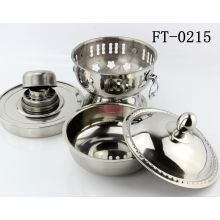 Stainless Steel Alcohol Stove Pot (FT-0215-XY)