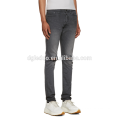 Pantalones de mezclilla elásticos stretch de corte slim y pantalones anchos de mezclilla biker