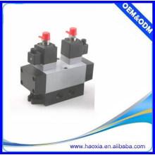 Válvula de cambio de control eléctrico neumática de 5 vías de la serie K
