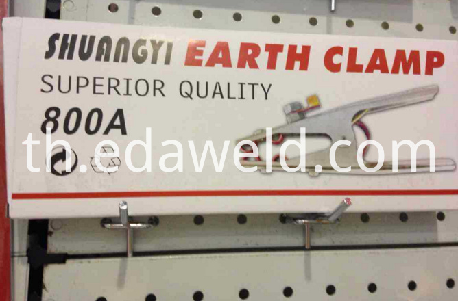 800A Earth Clamp
