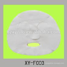 Viscosa no tejida desechable o pantalla facial de belleza de algodón o fibra