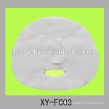 disposable nonwoven viscose or cotton or fiber beauty face shield