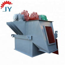 Mobile chain agricultural bucket elevator conveyor