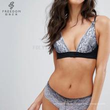 bangladeshi hot sexy sexy BH und Panty neues Design Fool's Gold Ombre Spitze Bügel BH