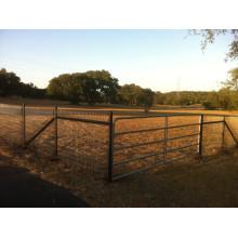 Valla de campo de la agricultura de ganado