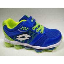 La marca de fábrica de la alta calidad calza la zapatilla de deporte de los niños del ocio de la manera