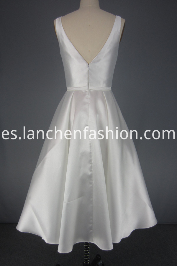 Bridesmaid Dress White