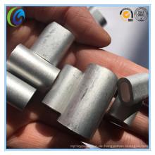 DIN3093 Stahldraht Seil Aluminium Hülse