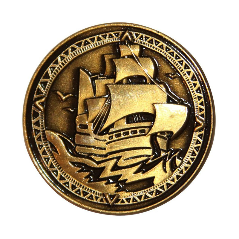 Die Cast Pirate Coins